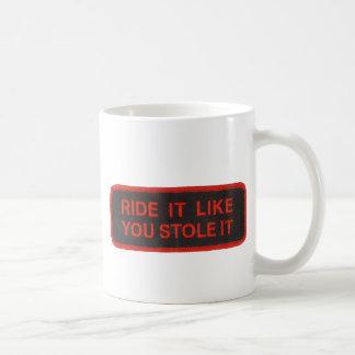 el paseo que tiene gusto de usted lo robó taza de café