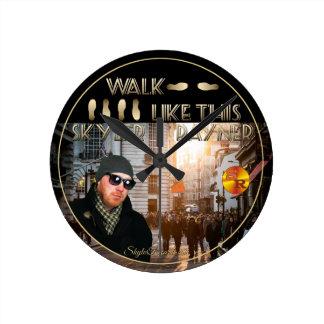 El paseo tiene gusto de esto de Skyler Rayner Reloj Redondo Mediano