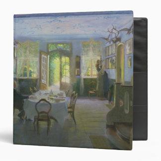 El Pasillo de la casa señorial en Waltershof, 1894