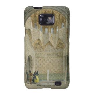 El Pasillo del Abencerrages, Alhambra, Granad Samsung Galaxy S2 Fundas