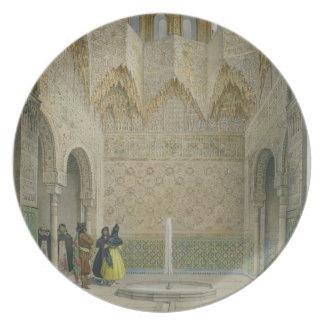 El Pasillo del Abencerrages, Alhambra, Granad Plato De Comida