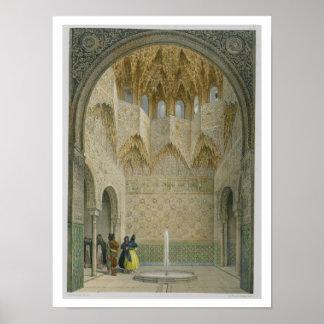 El Pasillo del Abencerrages, Alhambra, Granad Póster