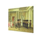 El Pasillo heráldico en el palacio del invierno, S Impresión En Lienzo
