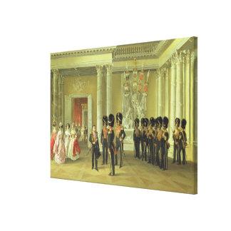 El Pasillo heráldico en el palacio del invierno, S Impresiones De Lienzo