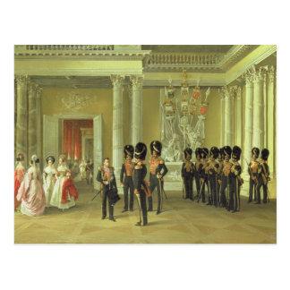 El Pasillo heráldico en el palacio del invierno, S Tarjeta Postal