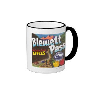 El paso Apple de Blewett etiqueta - la cachemira,  Tazas De Café
