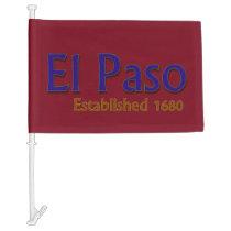 El Paso Car Flag
