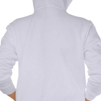 El Paso City of Texas State Typography Art Hooded Sweatshirt