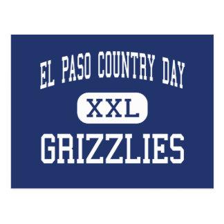 El Paso Country Day - Grizzlies - High - El Paso Post Card