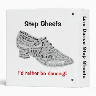 """El paso de cuerpo de baile cubre el texto del carpeta 1 1/2"""""""