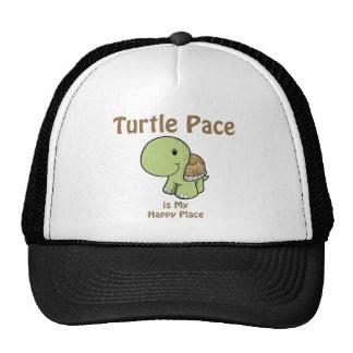 El paso de la tortuga es mi lugar feliz gorra