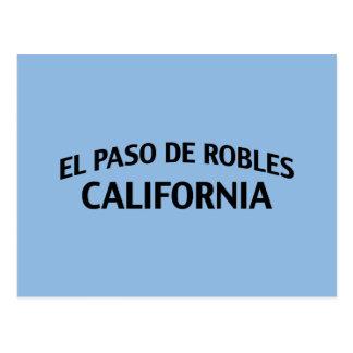El Paso de Robles California Postales