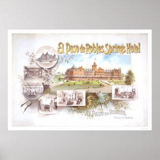 El Paso de Robles Springs Hotel Poster
