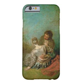 El paso en falso, c.1717 (aceite en lona) funda para iPhone 6 barely there