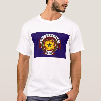 el paso flag united states america symbol texas T-Shirt