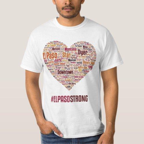 El Paso Heart 2019 _ Desert Theme T_Shirt