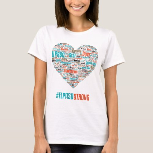 El Paso Heart 2019 _ OldEP Theme Light Shirts