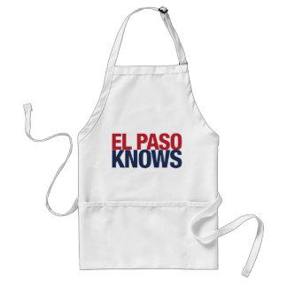El Paso Knows Adult Apron
