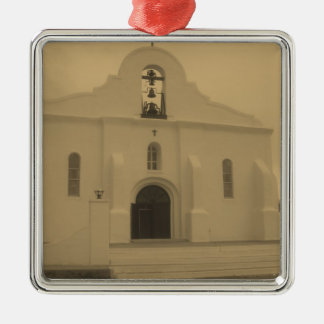 El Paso Mission Old Catholic Church - Mexico Metal Ornament