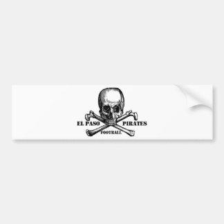 El Paso Pirates Souveniers Bumper Sticker