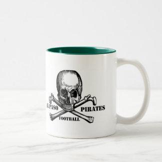 El Paso Pirates Souveniers Two-Tone Coffee Mug