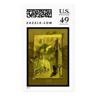 El Paso Postage Stamp