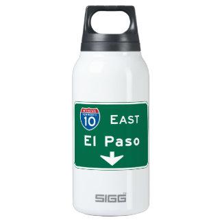 El Paso, señal de tráfico de TX