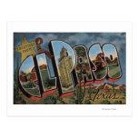 El Paso, Tejas - escenas grandes de la letra Postal