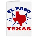El Paso, Tejas Felicitacion