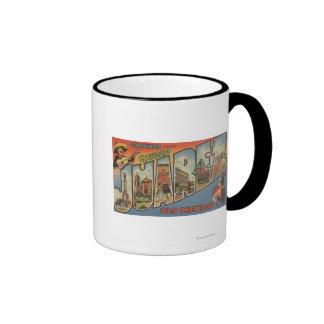El Paso, Texas - Ciudad Juarez Coffee Mug