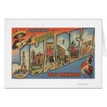 El Paso, Texas - Ciudad Juarez Greeting Cards