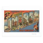 El Paso, Texas - Ciudad Juarez Post Card