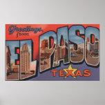 El Paso, Texas - Large Letter Scenes 2 Poster