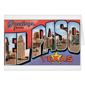 El Paso, Texas Notecard