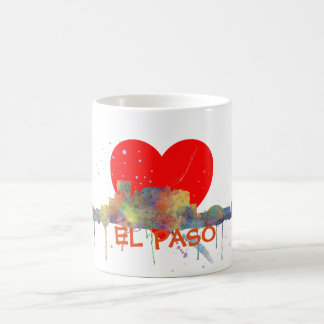 EL PASO, TEXAS SKYLINE - Drinking Mug
