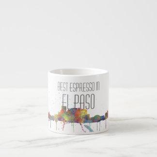 EL PASO, TEXAS SKYLINE - Espresso Mug