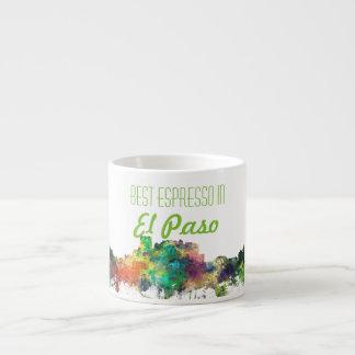 EL PASO, TEXAS SKYLINE SP - ESPRESSO CUP