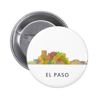 EL PASO, TEXAS SKYLINE WB1 - BUTTON