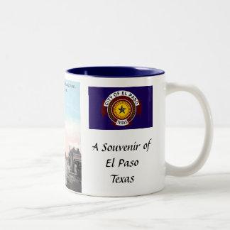 El Paso, Texas, Souvenir Mug