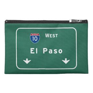 El Paso Texas tx Interstate Highway Freeway Road : Travel Accessory Bag