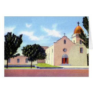 El Paso Texas Ysleta Mission Greeting Card