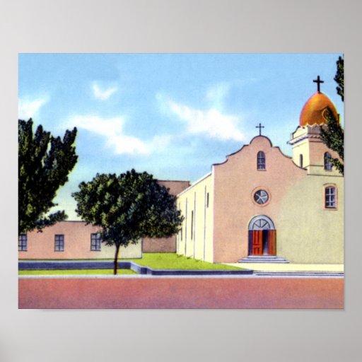 El Paso Texas Ysleta Mission Posters