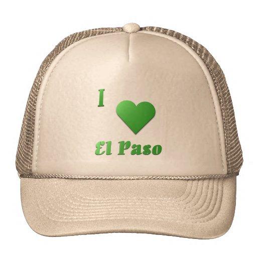 El Paso -- Verde de Kelly Gorras De Camionero