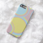 El pastel circunda el caso del iPhone 6 Funda De iPhone 6 Barely There