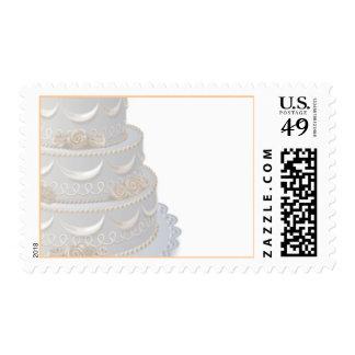 El pastel de bodas sella 2009 franqueo