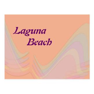 El pastel de California del Laguna Beach se va vol Tarjetas Postales