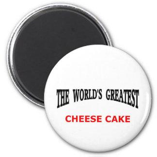 El pastel de queso más grande del mundo iman