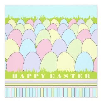 El pastel Eggs la invitación de Pascua