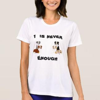 El pastor australiano 1 nunca es bastante camiseta