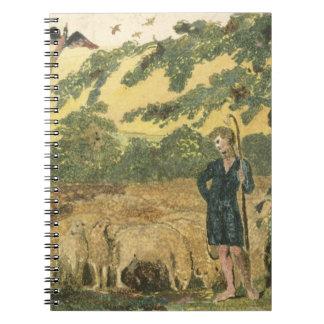 """El pastor, de """"canciones de la inocencia"""", 1789 (c libretas"""